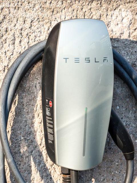 tesla wall car charger